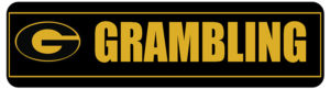 Customized Sign for Grambling University - available only at their events