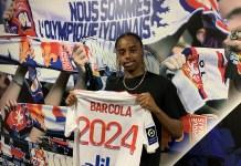 Bradley Barcola signe pro à l'OL