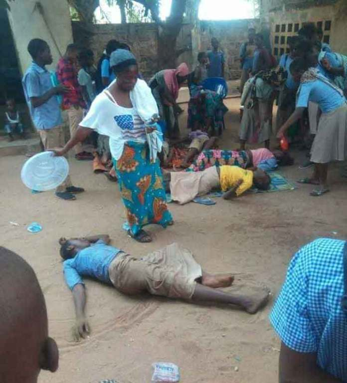 Agoe- Zongo : Des tirs de gaz lacrymogènes font des blessés                                                                             29 novembre 2018