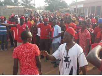 mANIF11 Togo: des militants du PNP condamnés pour rébellion