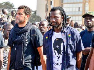 balais citoyen Des Togolais interdits de manifestation au Burkina Faso