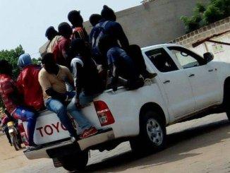 cagoul Des miliciens d'UNIR ont-ils (vraiment) semé la panique à Lomé?