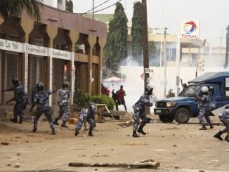 repressions manifs Répressions des manifestants au Togo: les USA en colère !