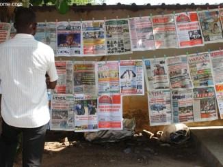 Média: seuls 171 journaux désormais autorisés à paraitre au Togo