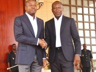 talon et gnassingbé 1 Affaire Gayman: Patrice Talon envoie une délégation chez Faure Gnassingbé