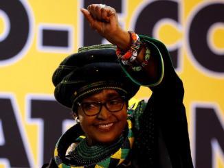 winnie mandela Faure Gnassingbé rend hommage à Winnie Mandela