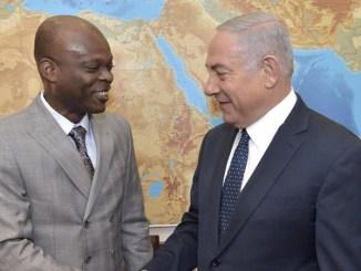 R Dussey Netanyahou