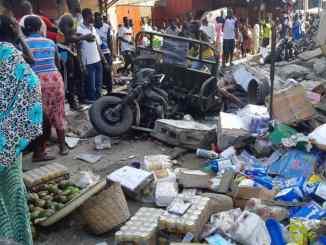 effrondement immeuble ok Effondrement d'immeuble au grand marché: de nouveaux morts signalés