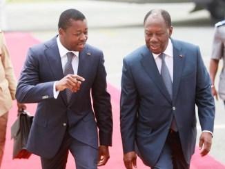 FAURE aa Entre Faure et Ouattara, Macron a fait son choix !