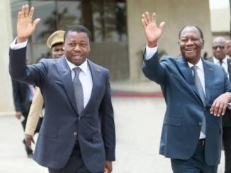 2e8bf6f45fb2b01f7bc63e367c45fa81 XL Législatives 2018: Alassane Ouattara montre la voie à Faure Gnassingbé