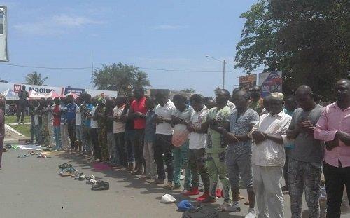 853245 1 Manifestions du Front Citoyen Togo Debout :Bè-Gakpoto transformé en lieu de prière