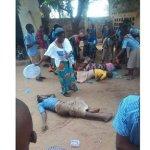 855447 Drame: les élèves évanouis sous l'effet de la fumée des gaz lacrymogènes à Agoè
