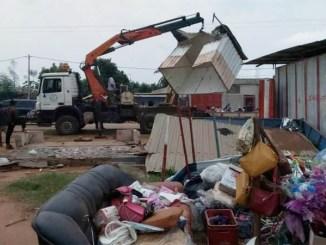 548d41fc70d47d3bf3dafd1fd364ee6b L Lomé: Kossi Aboka fait raser un supposé fief de dealers