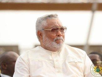 Jerry John Rawlings former President of Ghana