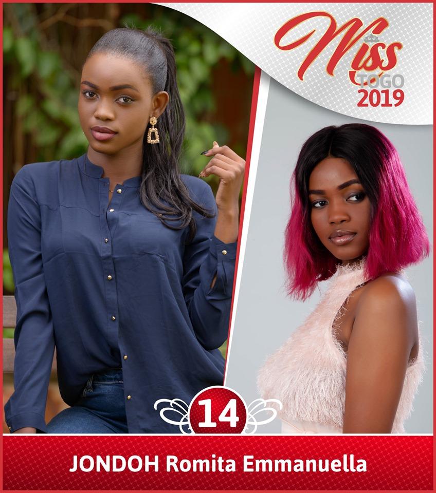 C14 Miss Togo 2019: la liste complète des candidates[Photos]