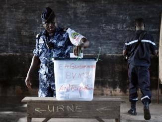 Vote Militaire Togo