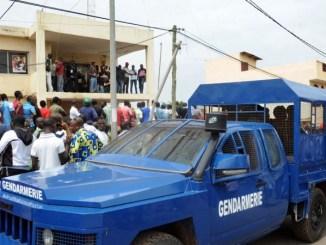 Togo Gendarmerie Covid-19: des mosquées évacuées de force à Agoè-Zongo