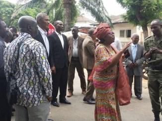 adjamagbo Togo: Mme Adjamagbo-Johnson n'en peut plus de la politique