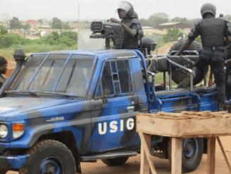 Police Togo Affrontements entre policiers et enseignants à Kégué: le récit des faits