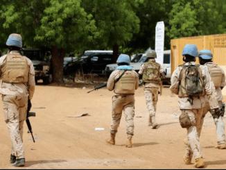 Soldats Togo Mali