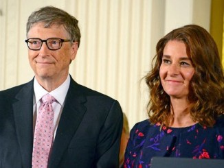 couple bill gates