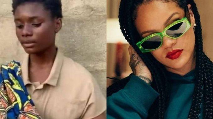 Nigeria Salle letoile montante de la musique contactee par Rihanna Nigeria : Sallè, l'étoile montante de la musique, contactée par Rihanna