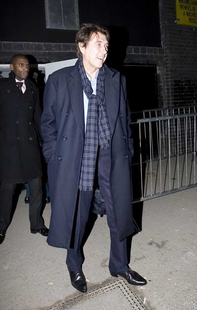 Bryan Ferry  arrives at Doubles Night Club Opening