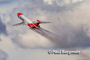 16/07/2016. Farnborough International Airshow. Boeing 727-200 Oil Spill Response Aircraft