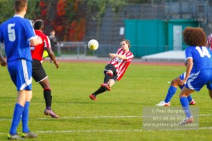 22/10/2016. Guildford City v North Greenford United. City's Will HOARE shoots