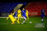 16/12/2016. Chelsea v Dinamo Zagreb in the Youth European Cup.