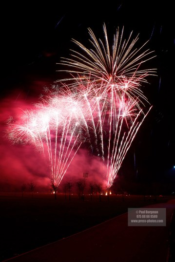 05/11/2016. Fleet Lions Fireworks Display