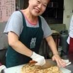 中国小吃:葱油餅(ツォンヨォゥビン)