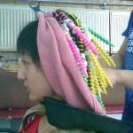 中国のパーマ屋さんのクスッとくる小道具