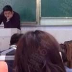 中国の学校で自習時間に一番遊んでいる奴