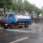 結構嫌われてる中国の路上清掃散水車
