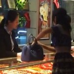 中国のお金持ちのお嬢さんの横柄な振る舞い