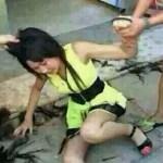 """中国女性のケンカは """"髪の毛つかみ"""" で勝負する"""