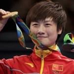 卓球世界ランキング1位の丁寧(ていねい)選手