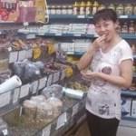 尝 ー 中国の試食と称して商品を荒らしていく人