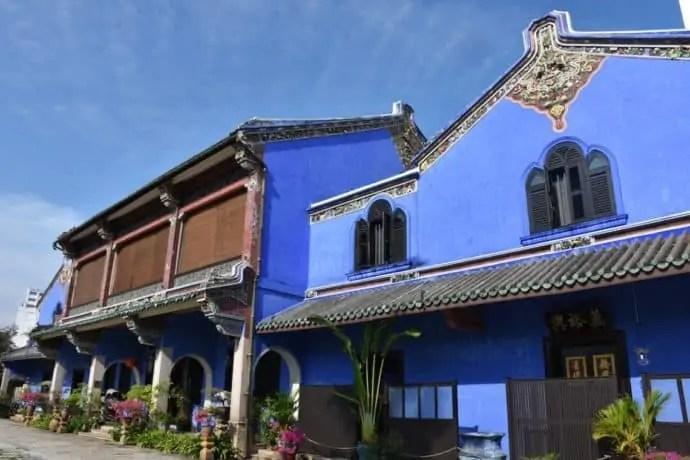 Du lịch Penang - Blue Mansion