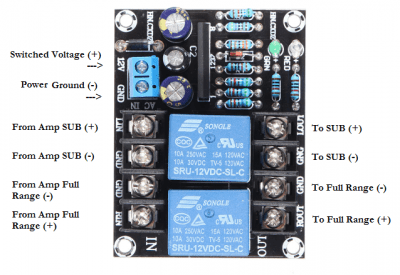 UPC1237 wiring diagram