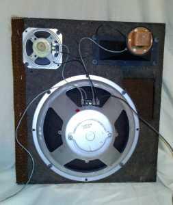 Back Silvertone Speaker