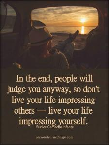 IMPRESS yourself ONLY