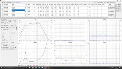 Half space calculations  minimum wattage, crossover + diffraction response