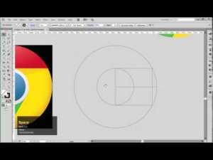 [ai] Làm thế nào để vẽ logo Google Chrome nhanh và chuẩn nhất