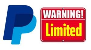 Limit Paypal là gì ? Cách giải quyết nhanh nhất.