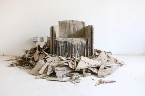 reborn cardboard sofa/ monocomplex
