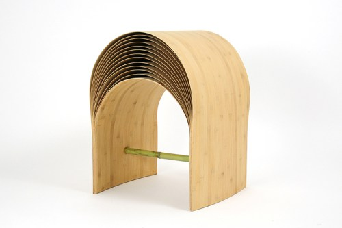 the hangzhou stool/ Chen min