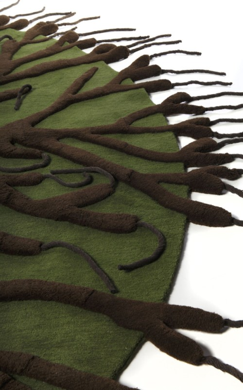 roots system rug/ Matali Crasset for Nodus