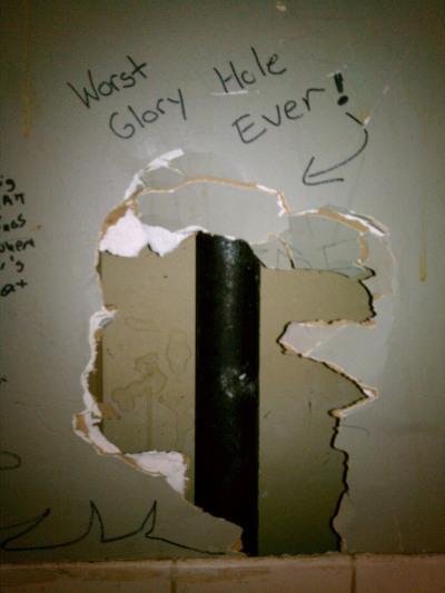 Glory hole tissue paper photo 567
